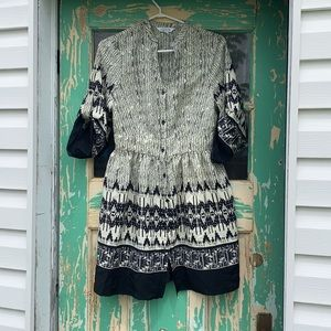Charming Charlie Button Up Tunic